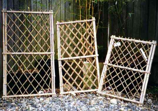 Bamboo gardener llc screens fence sections